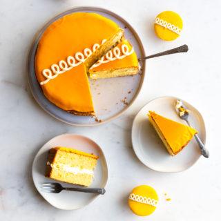 Orange Cream Cake by Baking The Goods