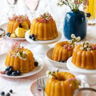 Meyer Lemon St. Germain Bundtlettes by Baking The Goods